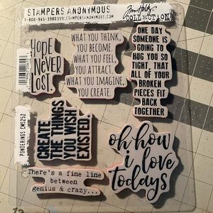 Stampers Anonymous Tim Holtz rubber stamps